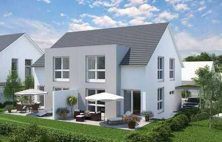 Willkommen Zuhause in Ihrer sonnigen Doppelhaushälfte im Brunnengarten!
