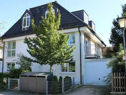 elvirA! Großhadern, moderne, großzügige Doppelhaushälfte mit schönem Südgarten