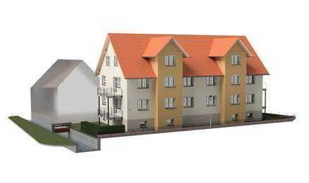 Erstbezug: ansprechende 3-Zimmer-Wohnung mit Balkon in Teningen