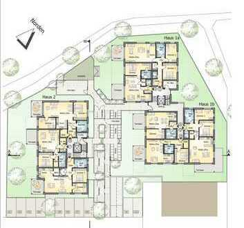 Heimelige 2- Zimmerwohnung im Erdgeschoss mit Garten (Whg 7)