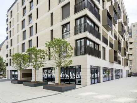 *Neu - Moderne 2-Zimmer-Wohnung mit Balkon in der Frankfurter Innenstadt (Neubau, kautionsfrei)