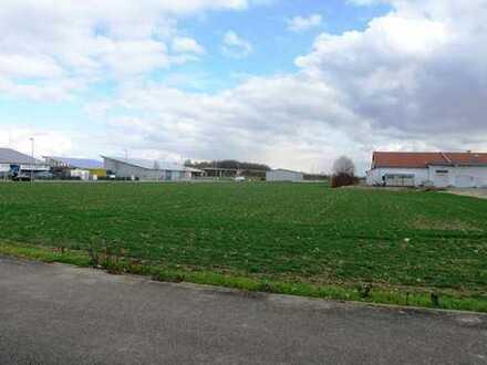 Gewerbegrundstück 5.898 m² teilbar voll erschlossen in Lauingen