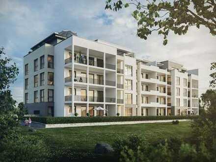 Besondere Lebensqualität! Exklusives 4-Zimmer-Penthouse mit 2 Bädern und ca. 76 m² Dachterrasse