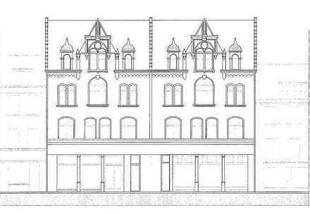 Wohnen & Homeoffice: Neubau-4-R-Wohnung mit historischer Fassade zum Kauf