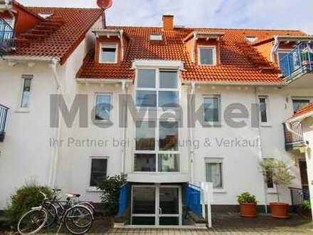 Kapitalanlage: Vermietete 2-Zi.-Maisonette-Wohnung mit Balkon im Rhein-Main-Gebiet