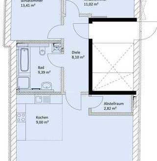 +++Wohnen mitten im Zentrum! Großzügige 3 ZKB/ca. 92 m² Wfl./Außenstellplatz in Pfaffenhofen+++