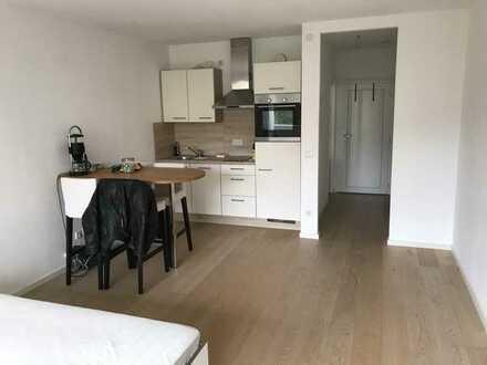 1-Zimmer-Apartment mit Balkon und Einbauküche - Nähe U-Bahn und Flaucher