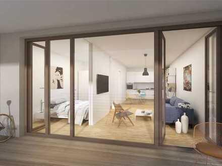 Lichtdurchflutetes 2-Zimmer-Studio mit Süd-Loggia im Prenzlberg