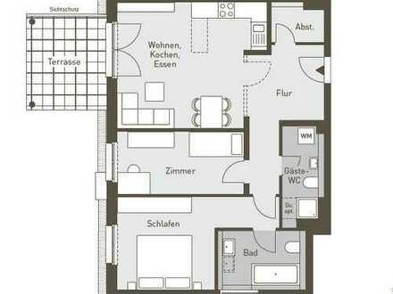 Erstbezug mit Garten: attraktive 3-Zimmer-Erdgeschosswohnung in Lichterfelde (Steglitz), Berlin