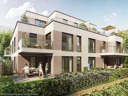 Traumhafte Gartenwohnung mit 2 Zimmern und großer Terrasse in grüner Lage