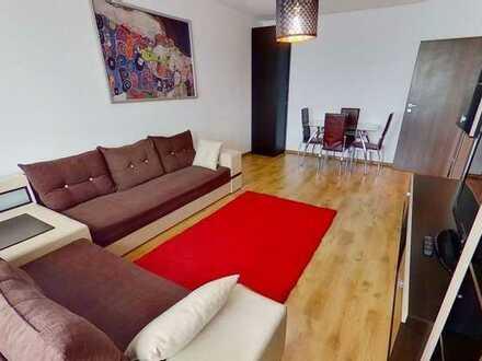 Sanierte 2-Zimmer-Wohnung mit Balkon und Einbauküche in Pfalzgrafenweiler