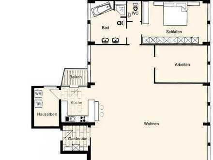 Coole Wohnung im Stuttgarter Westen