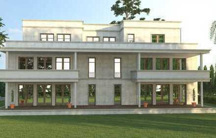 Eleganz trifft Lage - Neubau Erdgeschosswohnung mit 300 m² Garten in Traumlage
