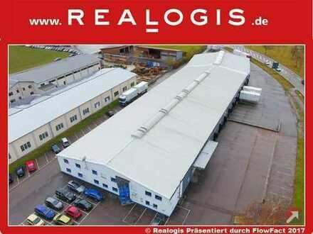 Woringen, ca. 3.500 m² Lager-/Umschlagshalle mit Büro und Freifläche zu vermieten