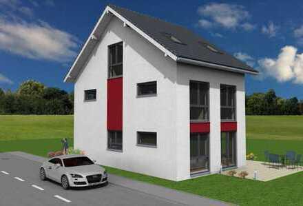 +++ Geplantes freistehendes Einfamilienhaus in Randlage +++