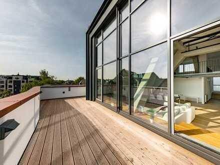 Bezugsfertig - Penthouse auf mehreren Ebenen und Dachterrasse!