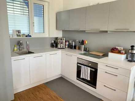 2-Raum-Wohnung mit Balkon und Einbauküche in Walldorf