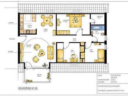 Vermietete 4,5 Zimmer-Dachgeschosswohnung in Bad Kissingen als ideale Kapitalanlage