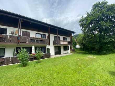2 Zimmer Wohnung  in Oberstaufen - Weissach mit Terrasse  und Tiefgarage