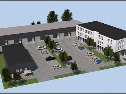 Im Naabtalpark: Gewerbe-Neubau mit erdgeschoßigen Ladenflächen und genügend Parkplätzen!