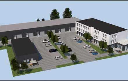 Im Naabtalpark: Gewerbe-Neubau für Büro, Praxis, Verkauf, Dienstleistung und Lagerhallen+Parkplätze!