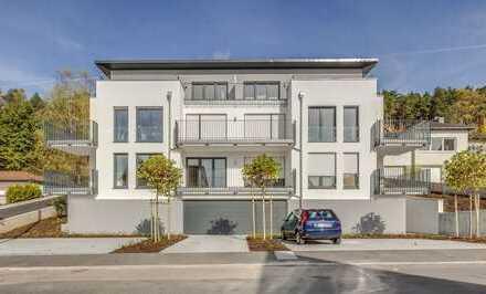 Wohnung mit gehobener Ausstattung, sehr großem Balkon, moderne Architektur