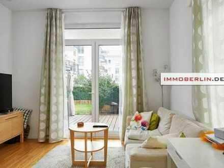 IMMOBERLIN: Top-Wohnung mit Südterrasse & Garten