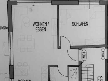 Neuwertige EG-Wohnung mit zwei Zimmern und Terrasse in Bühl