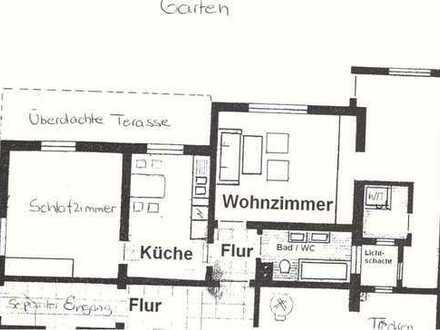 3 Zimmer Burgstetten / Terasse / eigener Garten / Separater Eingang