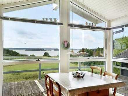 Sommerhaus mit unschlagbarem Meerblick über die Flensburger Förde!