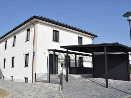Hochwertige Doppelhaushälfte im Erstbezug!! Ruhige Neubausiedlung in ländlicher Lage