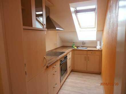 Attraktive, gepflegte 2-Zimmer-DG-Wohnung in Eisenhüttenstadt