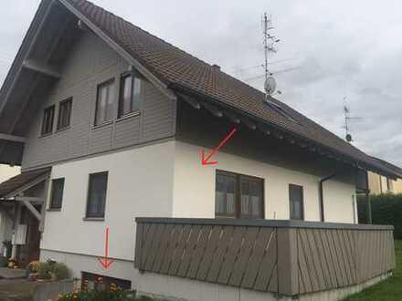 2-Zimmer-Eigentumswohnung mit Einliegerwohnung am Stadtrand Bad Saulgaus