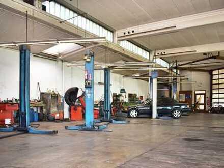 **REDUZIERT** Hochwertig ausgestattete Autowerkstatt mit Büro, Lager und Außenfläche in Illingen