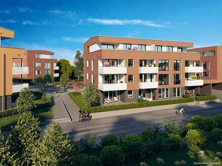 2-Zi.-Gartenwohnung mit Barrierefreiheit, Terrasse + gutem Anschluss in schöner Umgebung