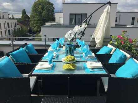 Wunderschöne Penthouse Wohnung + Designer Möbel - Küche