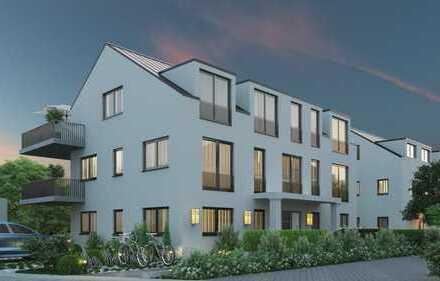 Ⓒhic & Ⓝeu. Ihr Neubau-Dachgeschosstraum im Rosengarten!