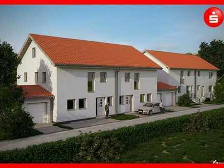 KfW 55 Doppelhaushälften in Günzburg Ortsteil Wasserburg