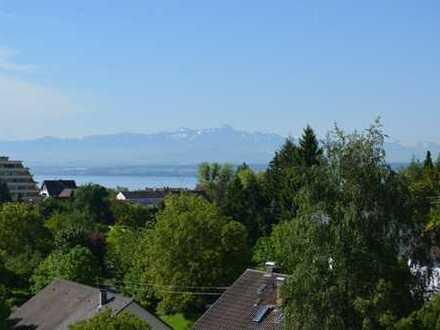 Geschmackvolle 3,5 Zimmer Wohnung mit schöner See- und Alpensicht in Meersburg zu vermieten