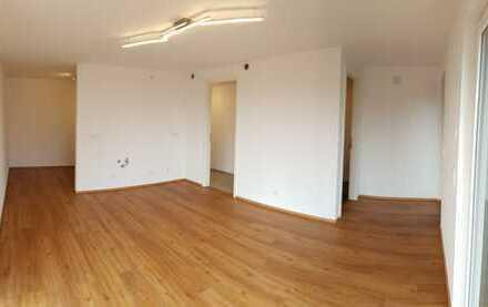 Erstbezug: zentral gelegenes 1-Zimmer-Apartment mit EBK, Terrasse und Stellplatz