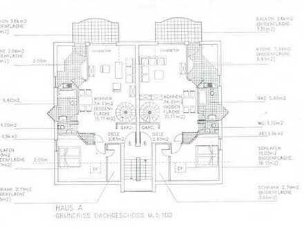 Gepflegte 3-Zimmer-Maisonette-Wohnung mit Balkon in Gelnhausen