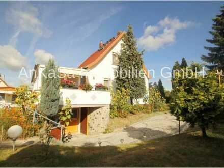 AnKaSa Immobilien GmbH*PROVISIONSFREI+Freistehendes EFH am Feld*Pool*Kamin*Wintergarten*TG*Brunnen*