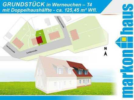 Werneuchen - Grundstück T4 mit Doppelhaushälfte ca. 125 m² Nfl.