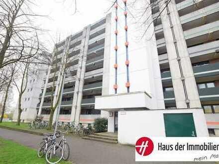 Kompakte 1-Zimmer-Wohnung mit Fernblick ins Grüne und einem Tiefgaragenstellplatz!