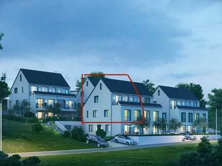 WÄHLEN SIE DAS BESTE! exklusive Neubau 3 Zimmer + Galerie, Küche Bad Wohnung mit Balkon!