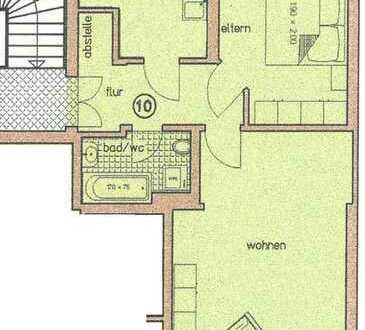 Schöne Zwei-Raum-Wohnung mit Balkon im Bachviertel