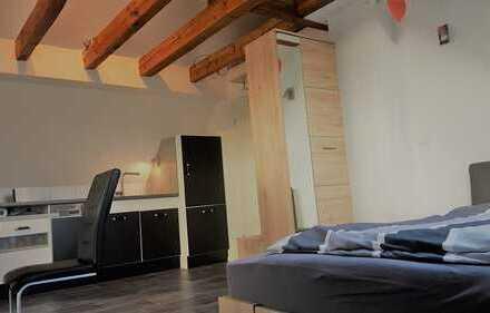 1-Zimmer-Apartment Vollausstattung für Berufspendler/Wochenendheimkehrer mit Fernblick