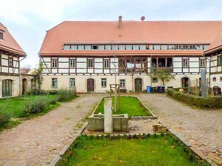 Vermietete Eigentumswohnung im Haus eines Vier-Seiten-Hofes