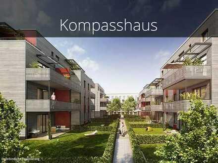 Einzug ab Sommer 2020! Nachhaltige 3-Zimmer-Wohnung mit gratis Tiefgaragen-Stellplatz bis 31.12.19
