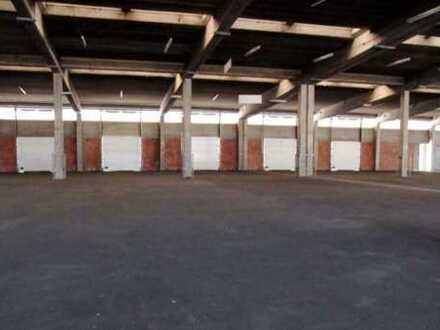 """""""BAUMÜLLER & CO."""" ca. 5.000 qm Lagerhalle mit Rampenandienung nahe A6"""